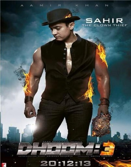 Aamir Khan In Dhoom Posters Dhoom