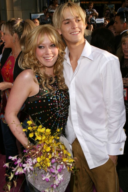 Hilary Duff Aaron Carter Main Aaron Carter