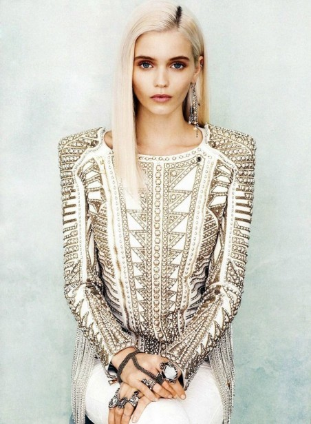 Abbey Lee Kershaw Be Yourself Blonde Eyes Favimcom