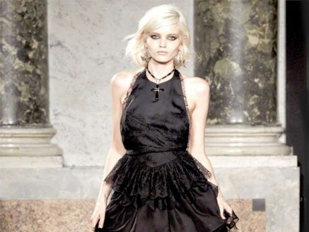 Hottest Abbey Lee Kershaw In Black Gown Photo Abbey Lee