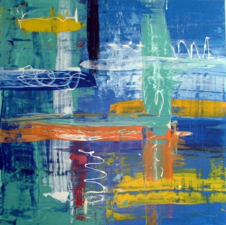Abstract Art Painting Sea Secret Painting