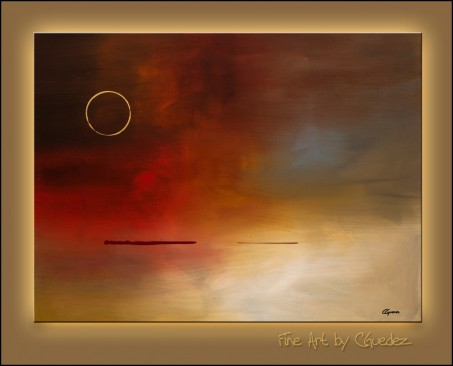 Abstract Painting Eclipse Large Paintings