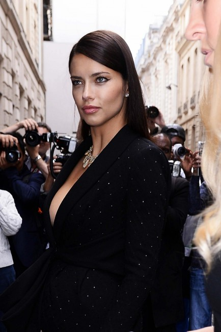 Adriana Lima At The Ralph Russo Presentation Paris July Adriana Lima