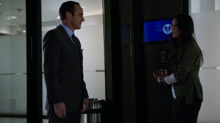 Skye Chloe Bennett Is Fixed To The Wall Agents Of Shield