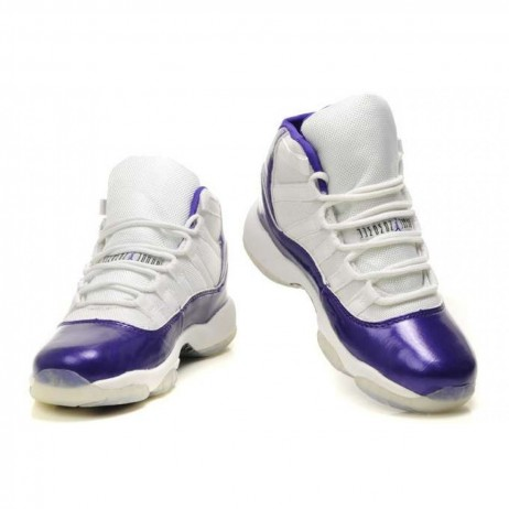 Womens Air Jordan White Purple