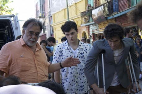 Still Of Francis Ford Coppola Vincent Gallo And Alden Ehrenreich In Tetro Large Picture