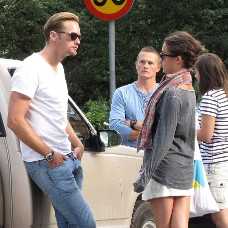 Alexander Skarsgard Alicia Vikander Together
