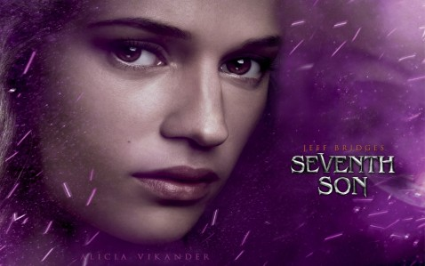 Alicia Vikander In Seventh Son Wallpaper