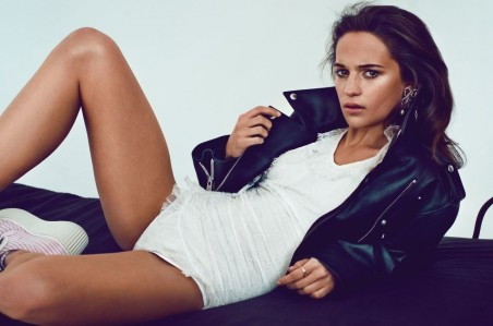 Alicia Vikander Photoshoot By Mark Homa For Magazine Bikini