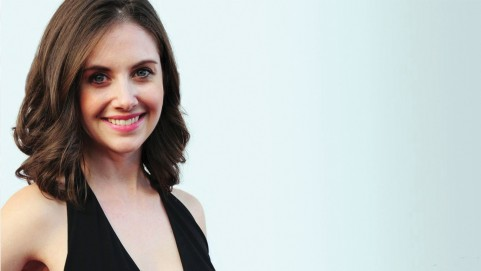 Alison Brie Hairs Smile Wallpaper Alison Brie