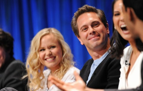 Alison Pill Thomas Sadoski And Olivia Munn In The Newsroom Large Picture