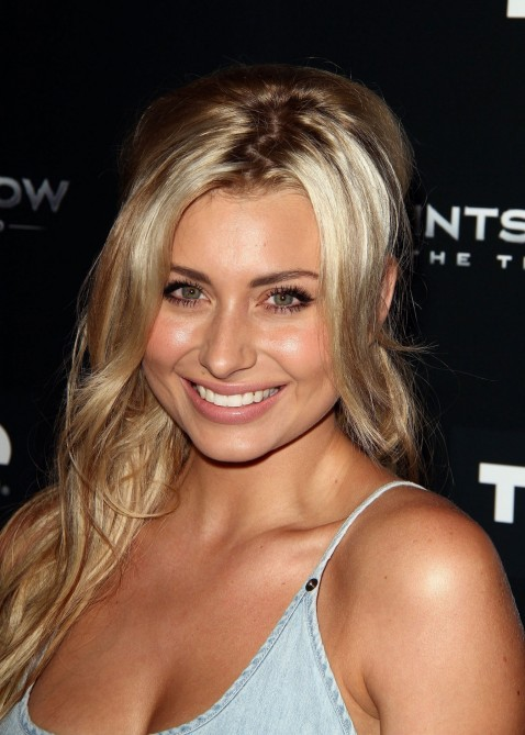 Aly Michalka At Saints Row The Third Premiere