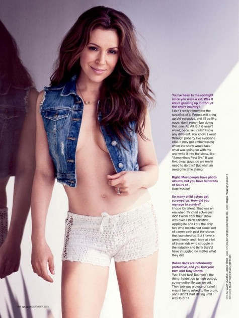 Alyssa Milano In Maxim Magazine India November Issue Maxim