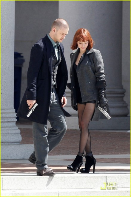 Amanda Seyfried Justin Timberlake Back In Time In Time