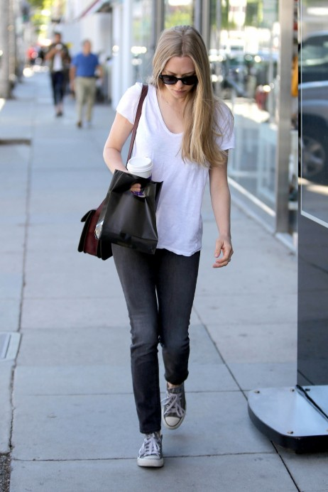 Amanda Seyfried Spotted Out In Beverly Hills