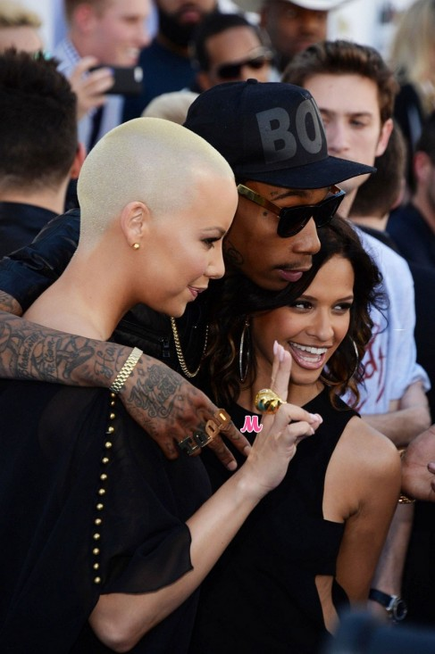 Amber Rose And Wiz Khalifa Billboard Awards And Wiz Khalifa