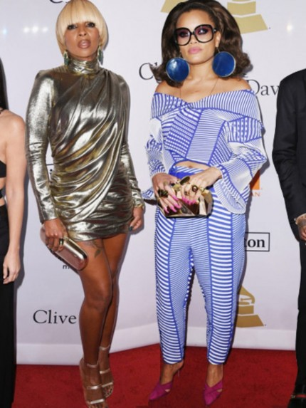 On The Scene Clive Davisycs Pre Grammyycs Party Featuring Amber Rose In Attico Rita Ora In Elie Saab Britney Spears In Uel Camilo And More Amber Rose