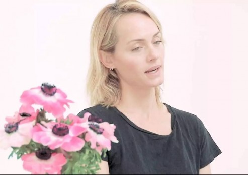 Amber Valletta Discusses Shooting With Peter Lindbergh Subjective Amber Valletta