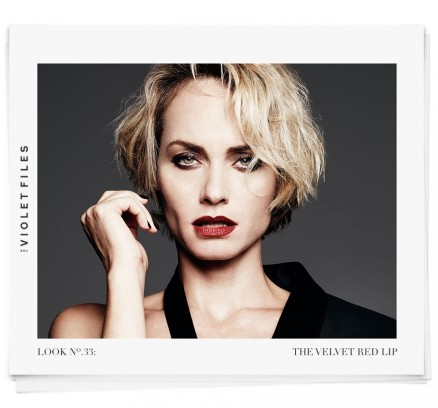 The Velvet Red Lip With Amber Valletta And Rachel Goodwin Feature Amber Valletta