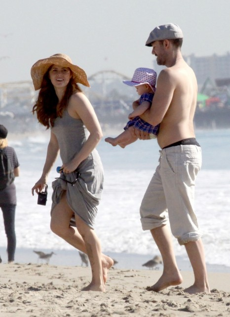 Amy Adams Beach Baby Beach
