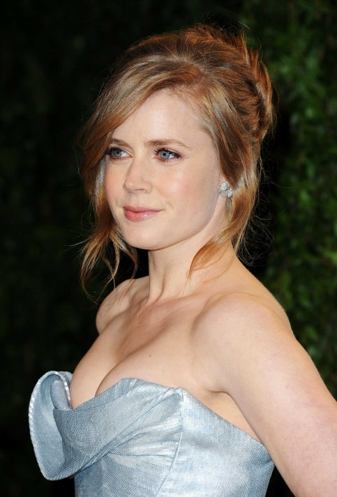 Amy Adams Vanity Fair Oscar Party Silver Dress Amy Adams Vanity Fair Oscar Party Vanity Fair