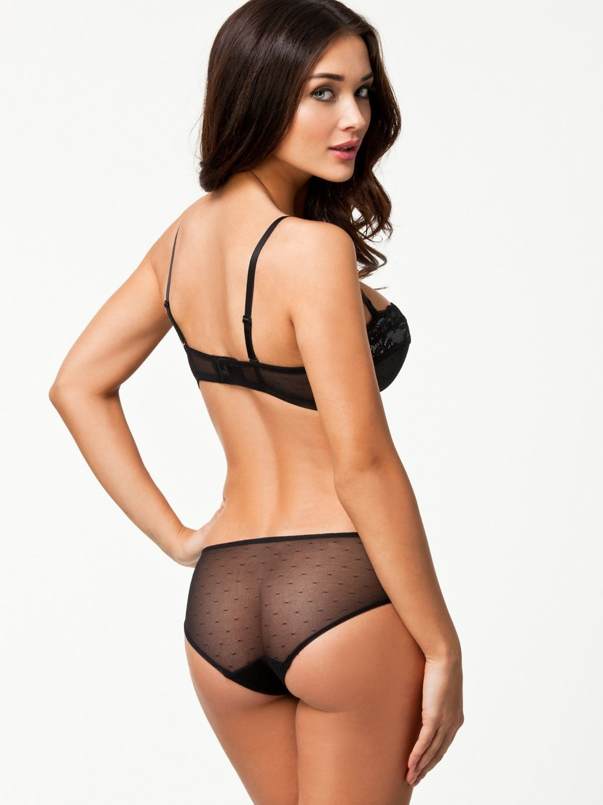 Amy Jackson Promoshoot For Nelly Swimwear Lingerie