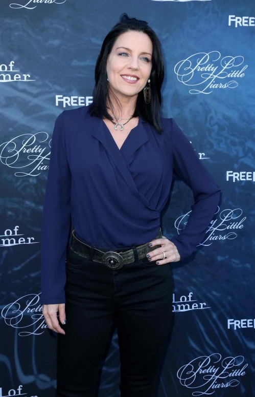 Andrea Parker At The Dead Of Summer And Pretty Little Liars Screening In Los Angeles Andrea Parker