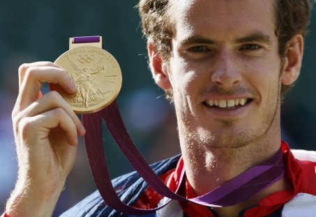 Andy Murray Pictured Above After Capturing The Gold At The London Olympics Andy Murray