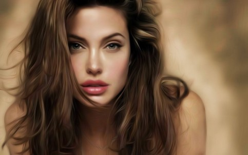 Art Angelina Jolie