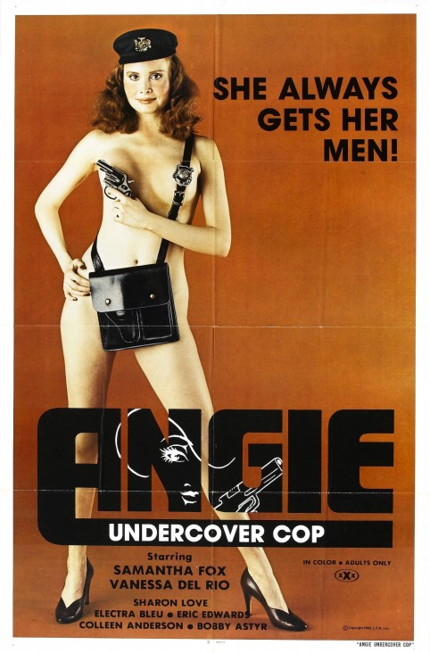 Angie Undercover Cop Poster