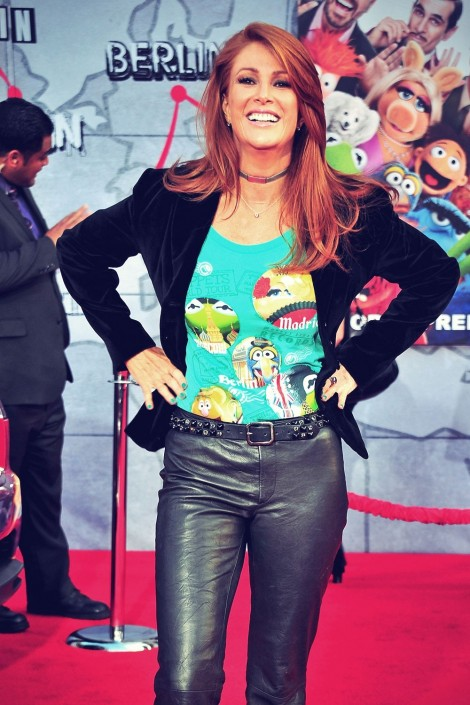 Angie Everhart Attends The Muppets Most Wanted Angie Everhart