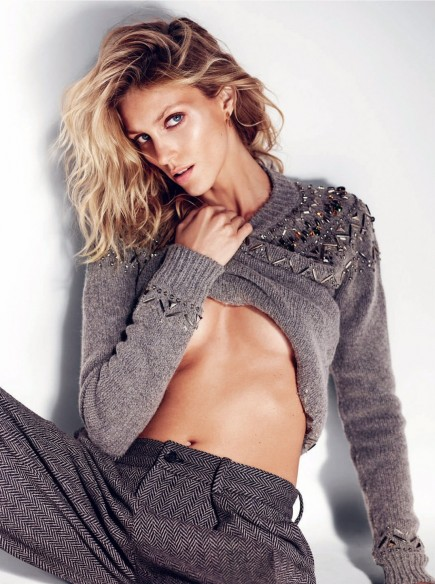 Anja Rubik By Marcin Tyszka For Elle Uk July Anja Rubik