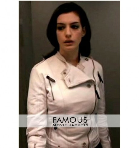 Anne Hathaway Get Smart White Jacket Body
