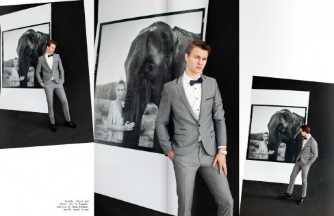 Magazine Scans Visual Tales Issue Ansel Elgort