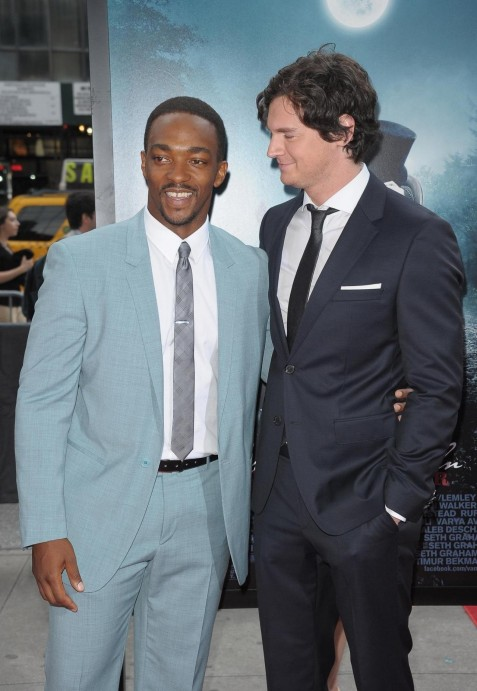Benjamin Walker And Anthony Mackie In Abraham Lincoln Vampire Celebrities Picture Anthony Mackie Hd Wallpaper