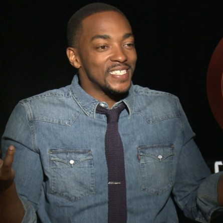 Closely Cut Temple Fadex Anthony Mackie