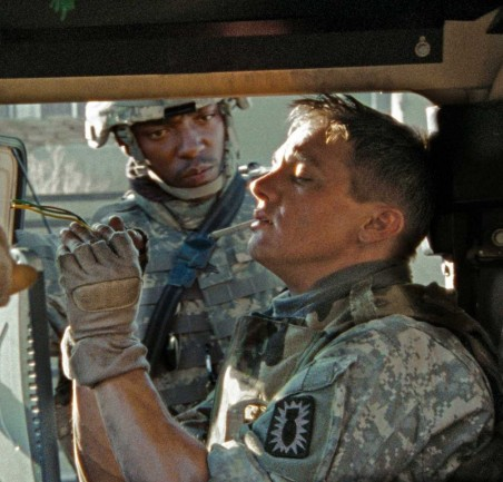 Hurt Locker Anthony Mackie Jeremy Renner Anthony Mackie