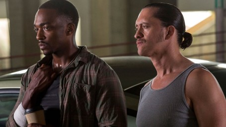 Triple Pic Anthony Mackie And Clifton Collins Anthony Mackie