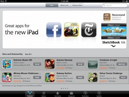 App Store Great Apps For New Ipad Apps