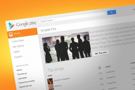 Google Play All Access Arcade Fire Playlist Music