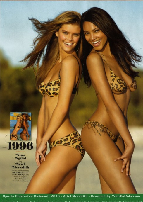 Sports Illustrated Swimsuit Ariel Meredith Nina Agdal