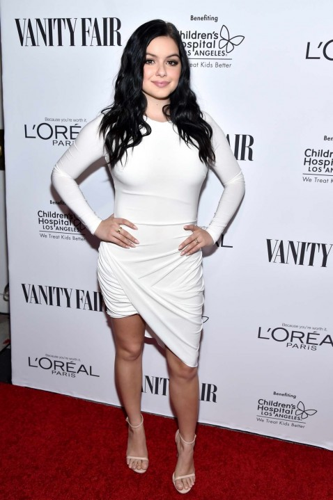 Ariel Winter At Vanity Fair Loreal Paris And Hailee Steinfeld Host Dj Night In West Hollywood Ariel Winter