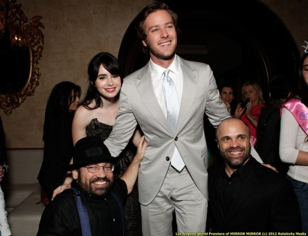 Actress Lily Collins And Actor Armie Hammer Attend The After Party And Lily Collins