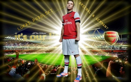Lukas Podolski Arsenal Hd Soccer World