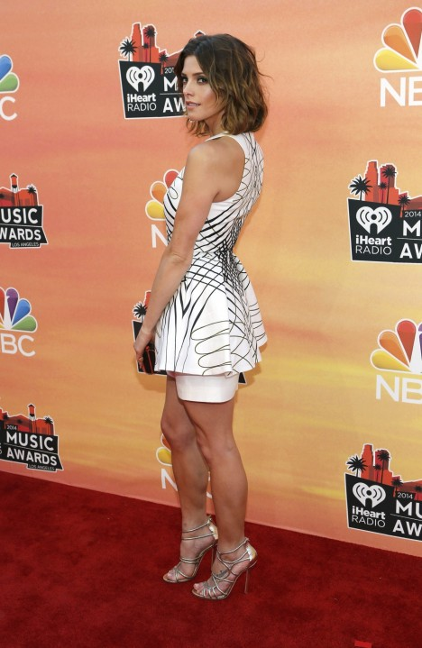 As Ey Greene Attends The Iheartradio Music Awards Held At The Shrine Auditorium