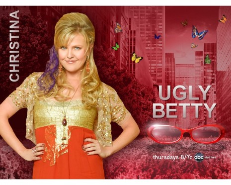 Ashley Jensen In Ugly Betty Wallpaper And Terence Beesley