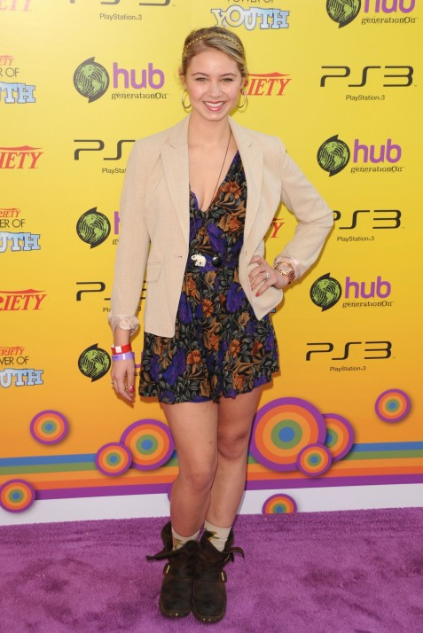Ayla Kell Varietys Th Annual Power Of Youth Event