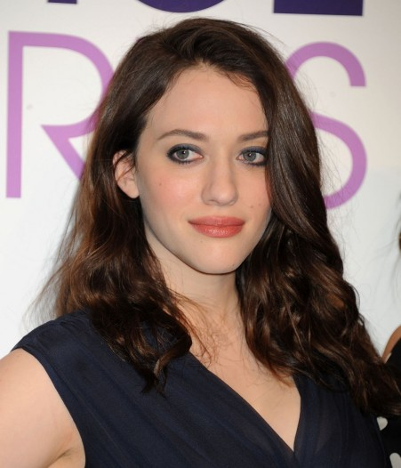 Kat Dennings And Beth Behrs At The People Choice Awards Nominations In Beverly Hills