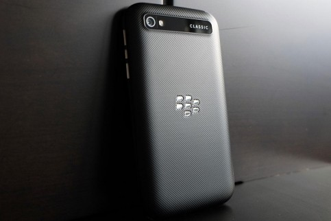 Blackberry Classic Back Angle