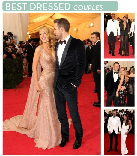 Metgala Couples And Ryan Reynolds